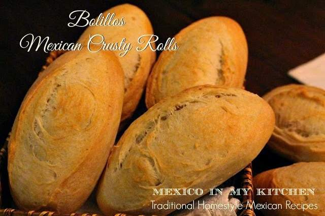 Mexican bolillo recipe