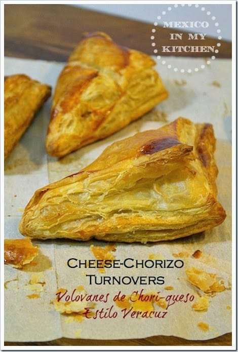 Cheese And Chorizo Turnovers  Volovanes De Choriqueso