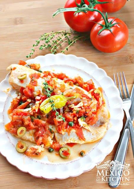 Tilapia Veracruz recipe