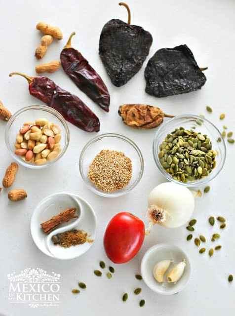Pipian rojo recipe ingredients