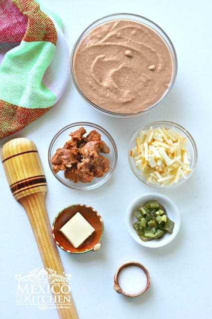 Dirty bean dip recipe