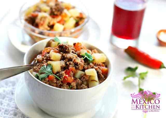 Mexican Picadillo recipe the easy version