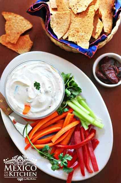 Creamy Chipotle Dip recipe