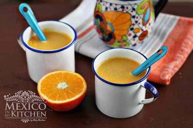 orange atole recipe naranja a sweet warm drink