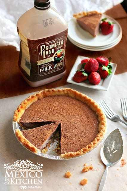 Chocolate Milk Pie Recipe,eggless.