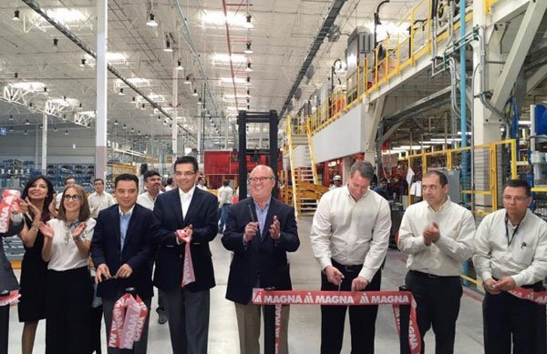 New Magna Plant Opens In Morelos