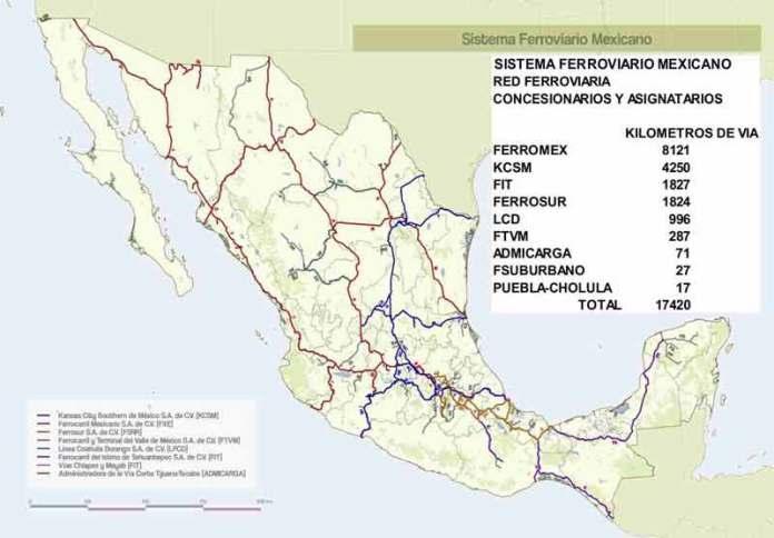 19 AGO. 2020 México lanza el Atlas del Sistema Ferroviario
