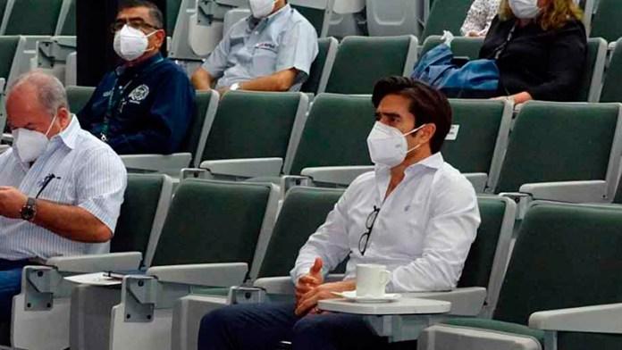 Aduanales de Veracruz participan en sesión de la comunidad portuaria