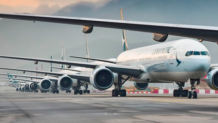 Cathay to park 40% of fleet in long-term storage overseas