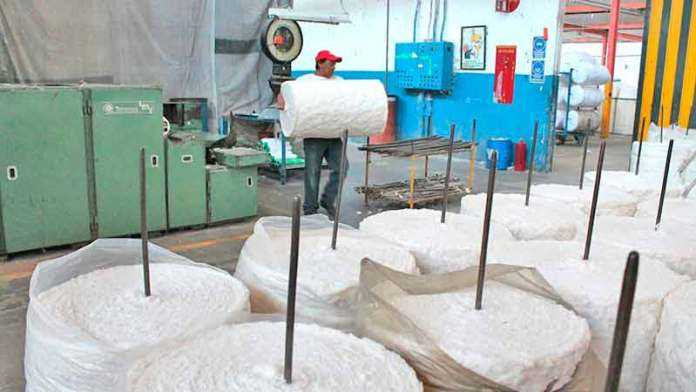 Consolidó industria suavidad del algodón