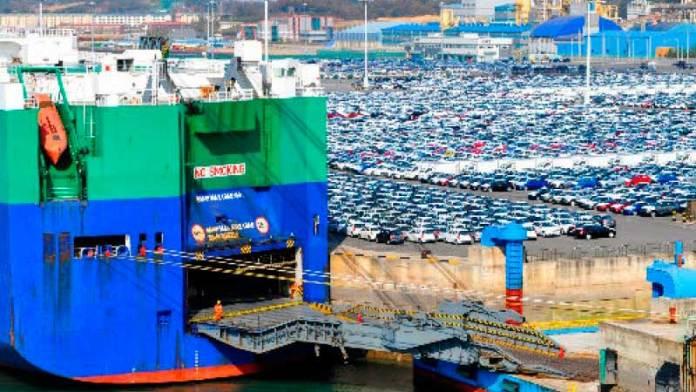 Supera el puerto de Veracruz manejo de más de medio millón de autos