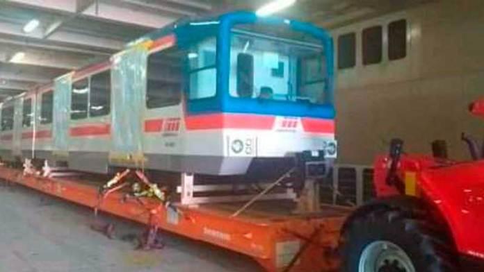 Este martes arriban al puerto de Altamira vagones para la línea 3 del metro de Monterrey