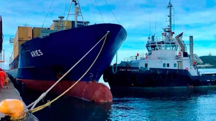 Carga portuaria cae 13% en octubre respecto a 2019