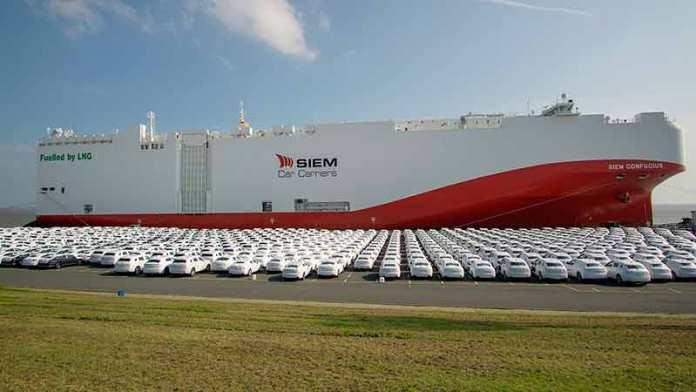 Impulsa Car Carriers buques ecológicos propulsados por gas licuado