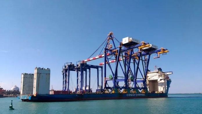 Puerto de Altamira recibe nuevo equipo portuario