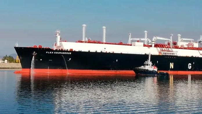 Tanquero con gas natural de EU atraca en la terminal de Manzanillo para aliviar crisis eléctrica