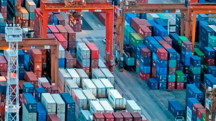 Comercio de México con sus socios del T-MEC cae 4% en sus primeros 6 meses de vida