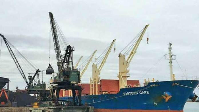 Puertos cierran primer trimestre con caída de 7% en carga operada