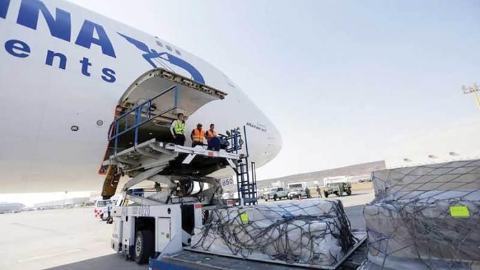 Aumenta la carga aérea en el AIQ