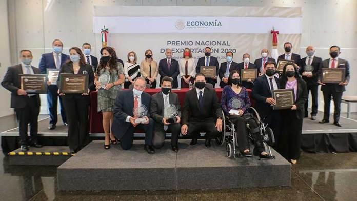 SE da a conocer ganadores del Premio Nacional de Exportación 2020