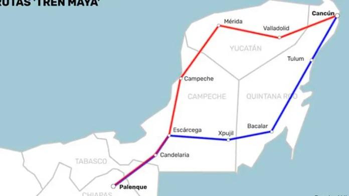 Conectaría el tren Maya con el Transpeninsular