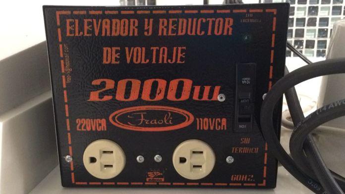 Transformador para thermomix mejico