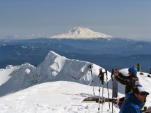 Mt. Adams from the peak of Mt. St. Helens