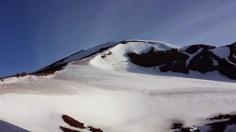 Closer to the peak