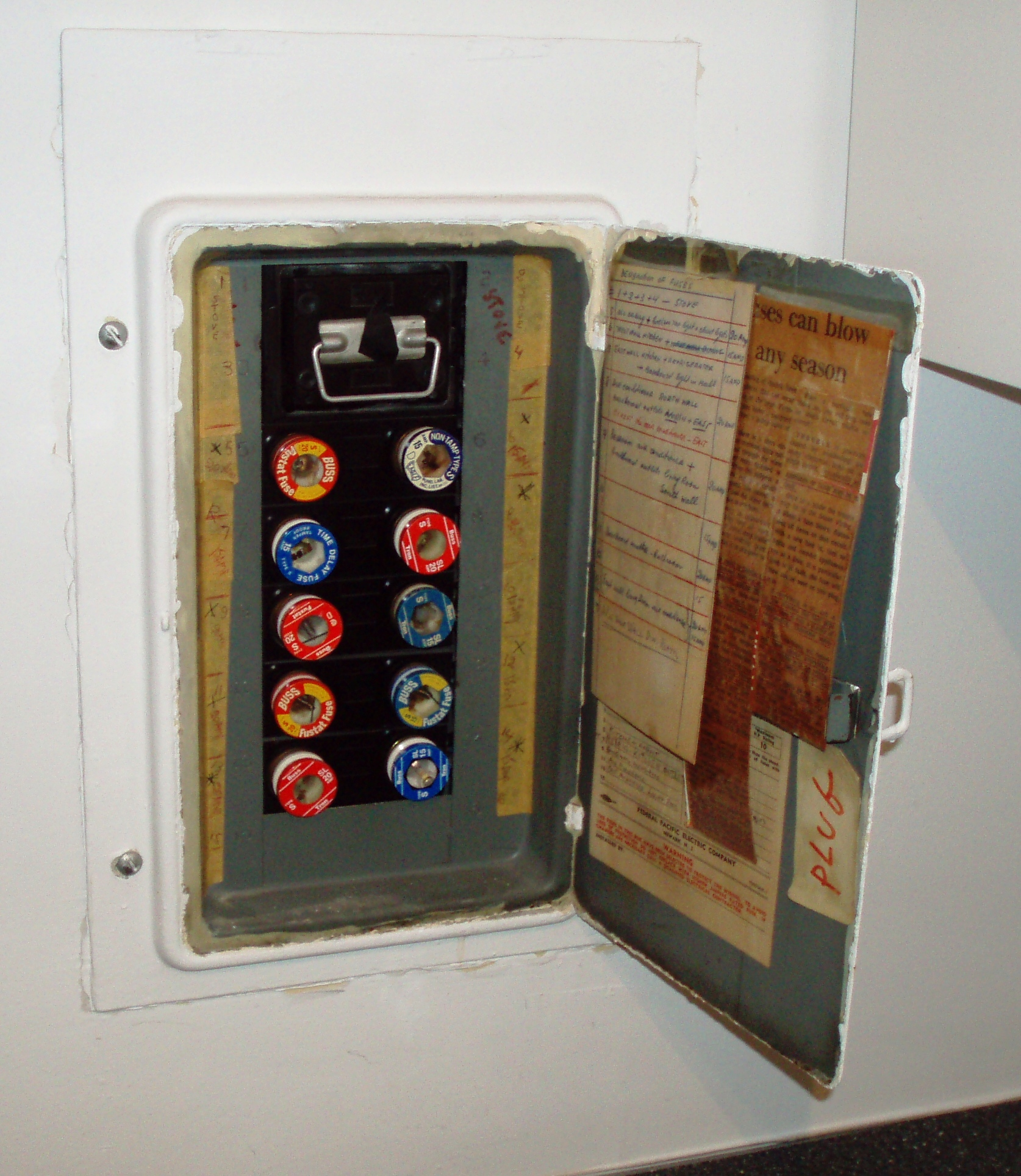 30 Old Fuse Box Auto Electrical Wiring Diagram
