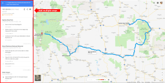 Adding multiple destinations to route on GoolgeMaps.