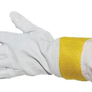vented goatskin gloves