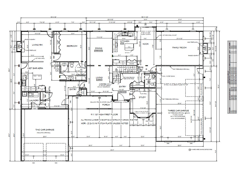 medium resolution of  3500sf 2 story with 1100 in law with garage meyer home sales llc custom homes