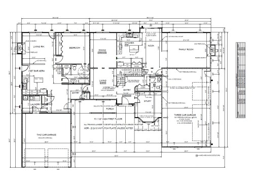small resolution of  3500sf 2 story with 1100 in law with garage meyer home sales llc custom homes