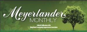 Meyerlander monthly newsletter