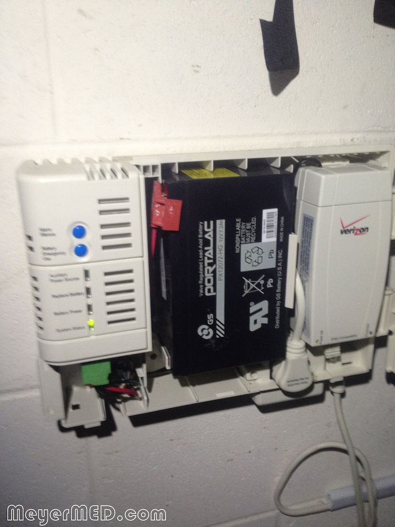 hight resolution of verizon fios online network terminal ont battery backup unit bbu