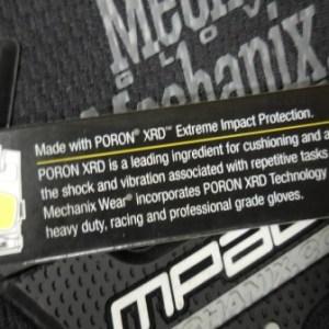 Mechanix Impact Glove Large Black/Gray
