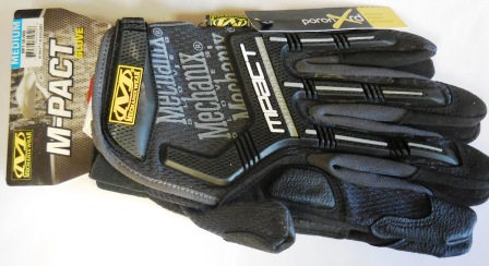 Mechanix Impact Glove Medium Black/Gray