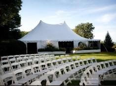 wedding chair set up