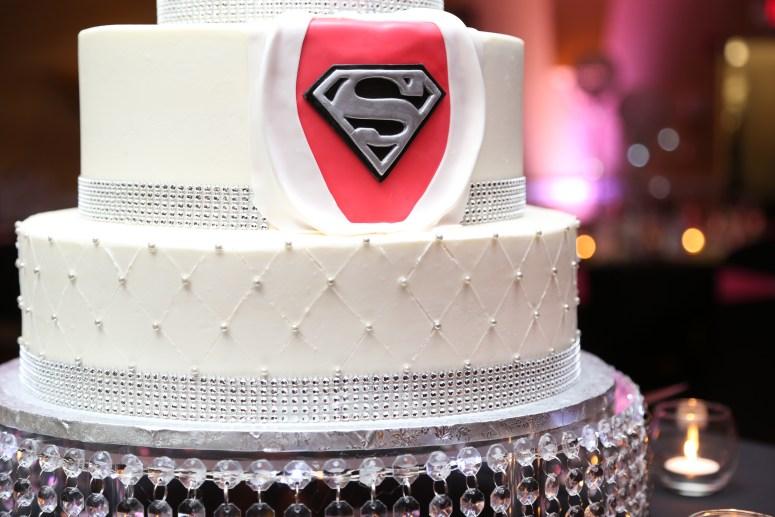 superman wedding cake superhero grooms cake