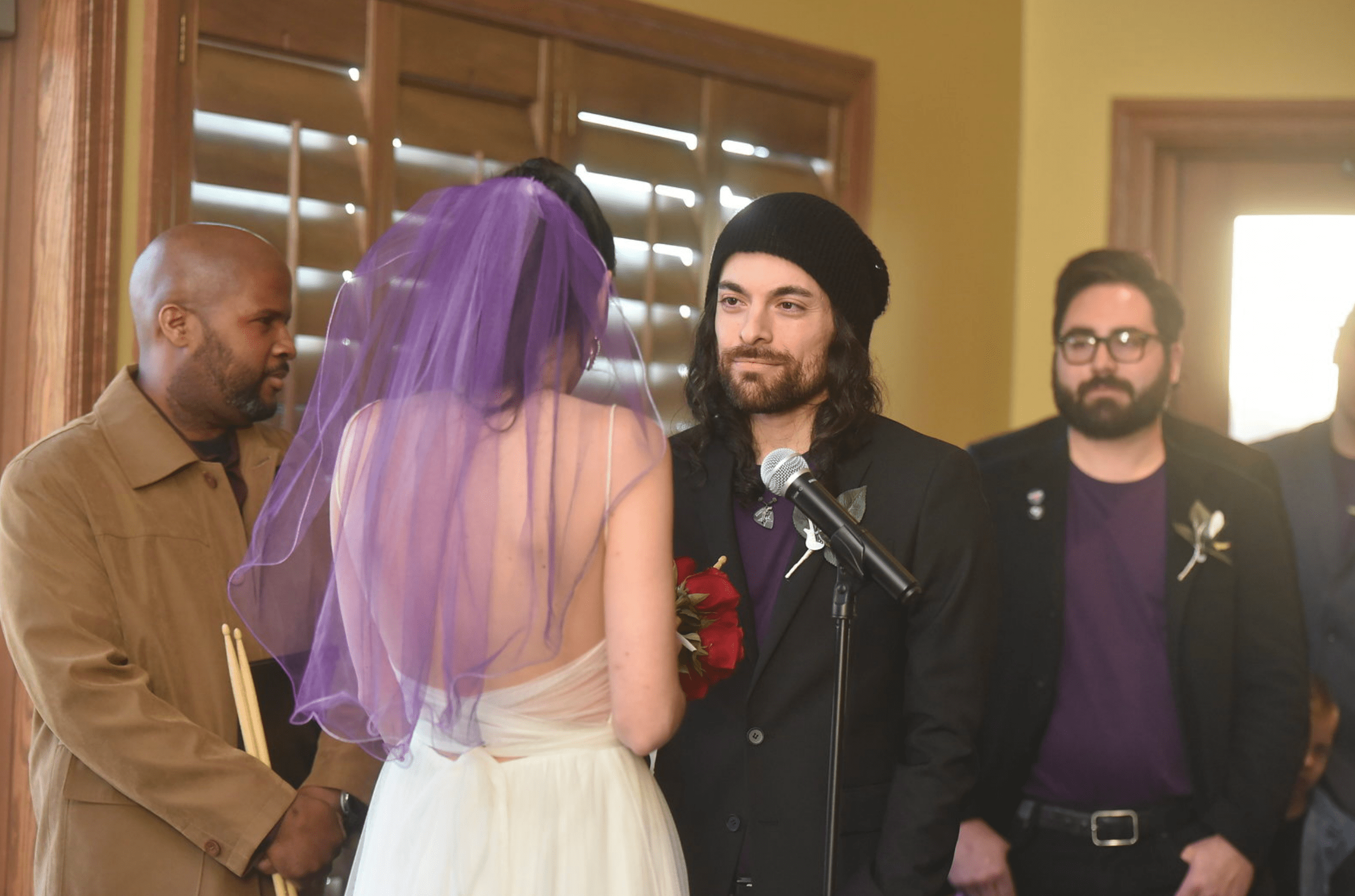 rock and roll wedding theme