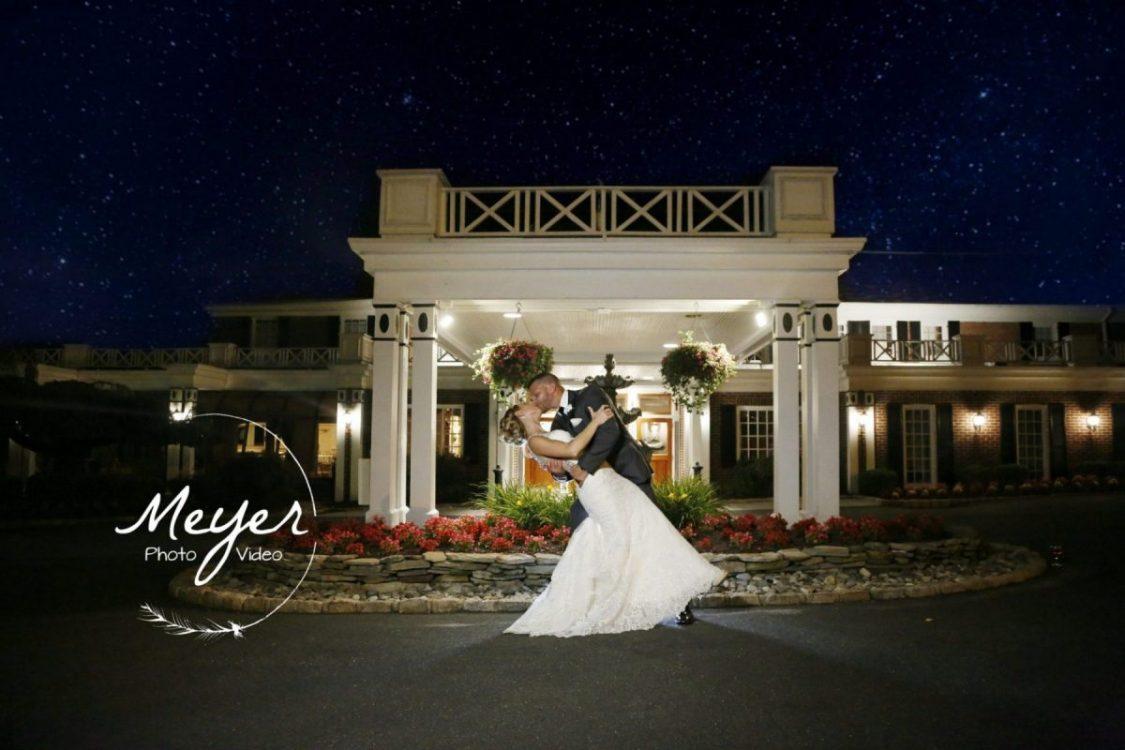 Night wedding photography NJ