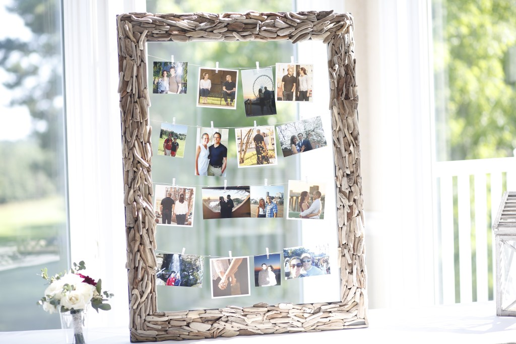 wedding picture collage