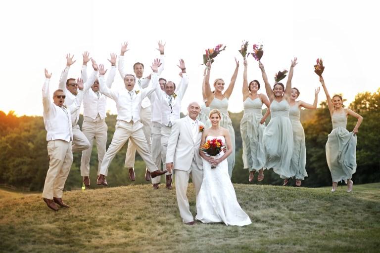 greek wedding celebration