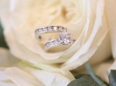 wedding rings looking pretty