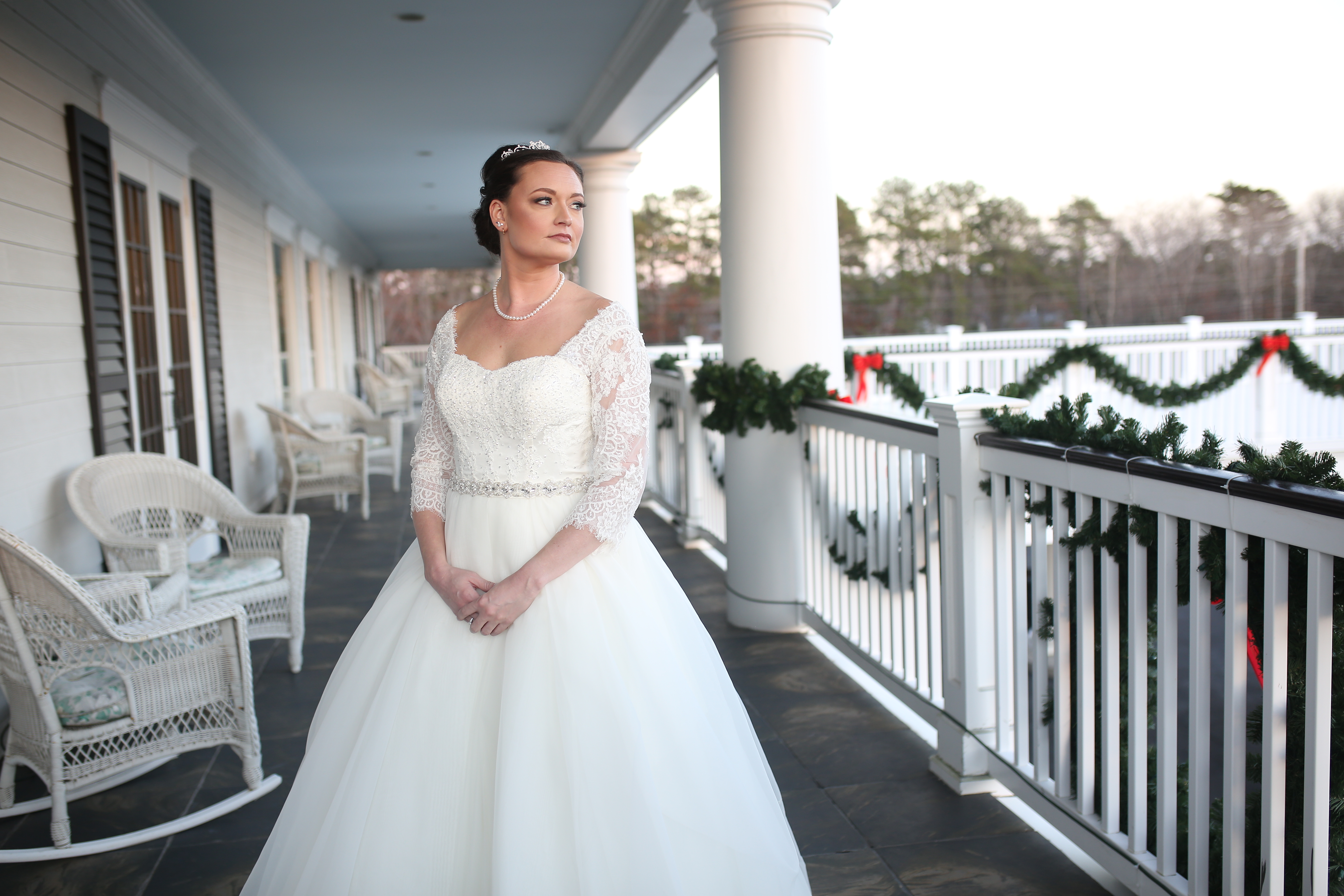 the bride at the caridge house
