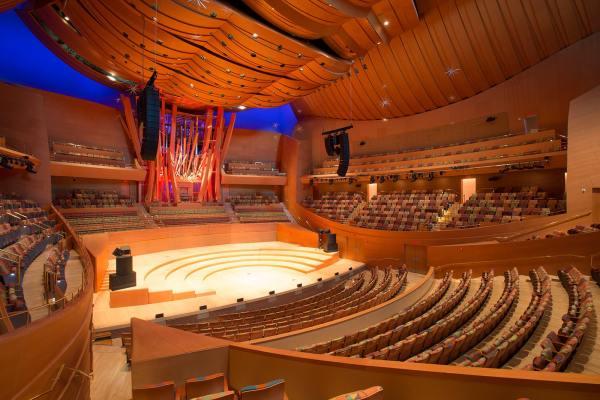 Walt Disney Concert Hall Meyer Sound