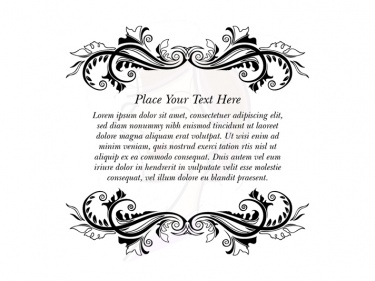 Wedding Text Border Frames Clipart Add Your Own Text