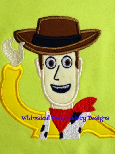 Woody Toy Story Applique Machine Embroidery Design INSTANT DOWNLOAD  Meylah