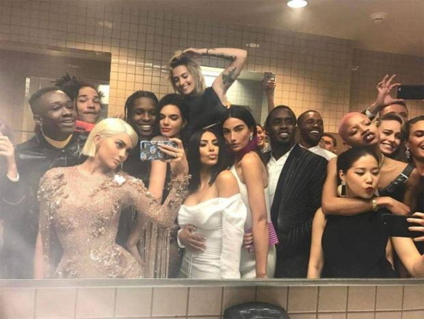 Kylie and celebrities