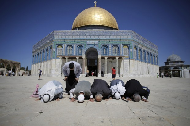 Muslim worshipers